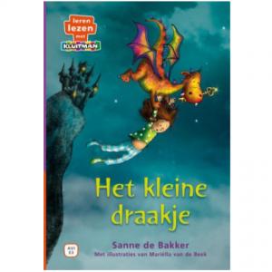 Leren lezen met Kluitman - Het kleine draakje 1
